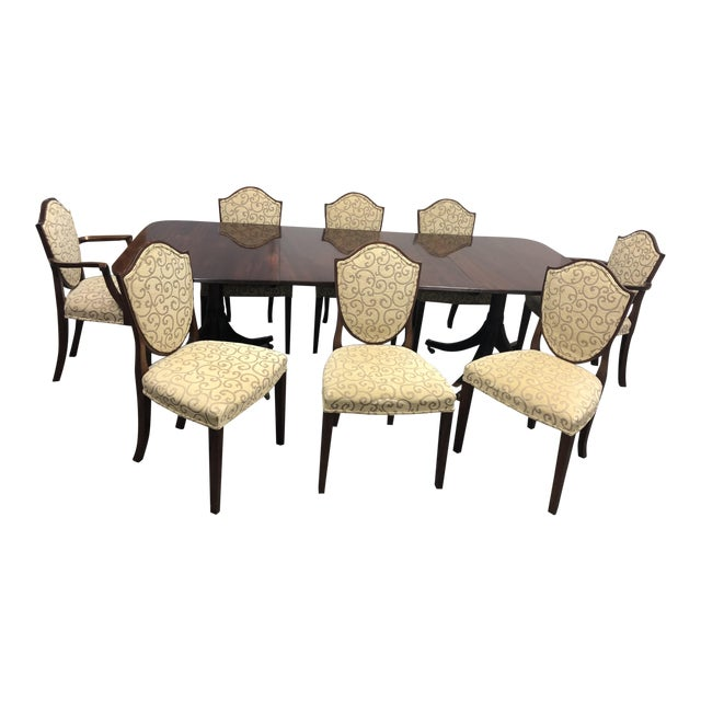 William Tillman Dining Set - Set of 9 For Sale