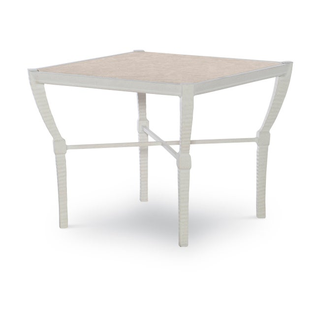 Mediterranean Century Furniture Andalusia Outdoor Side Table For Sale - Image 3 of 3