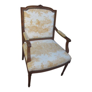 Antique French Bergere Chair