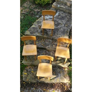 1950s Vintage Gunlocke Dining Chairs- a Set Preview