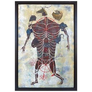 """""""Ciclos Evolutivos Personales"""" by Cuban American Artist Carlos Estévez For Sale"""