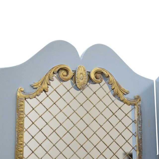 French-Style Room Screen - Image 2 of 4