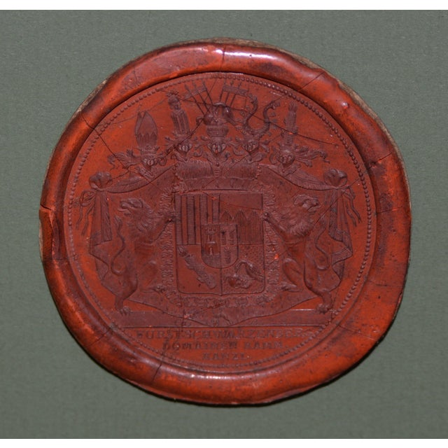 Fine Collection of 19th Century Wax Seals For Sale - Image 10 of 12