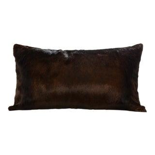 Springbok Pillow in Espresso 18x10 For Sale