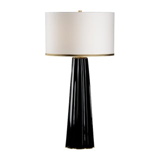 Chelsea House Inc Scalloped Column Lamp For Sale