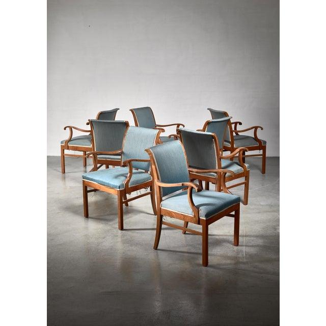 Fritz Hansen Fritz Hansen Set of 20 Conference Chairs, Denmark, 1940 For Sale - Image 4 of 4