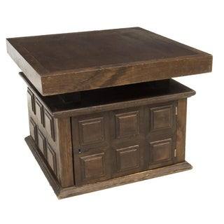 Spanish Baroque Style Paneled Walnut Table Preview