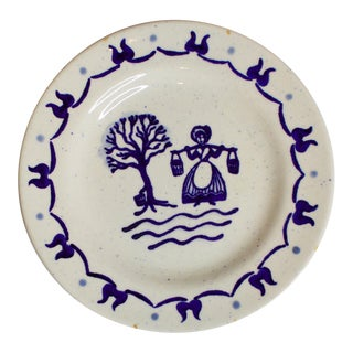 Country Handpainted Decorative Plate