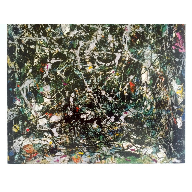 """Jackson Pollock Foundation Abstract Expressionist Collector's Lithograph Print """" Full Fathom Five """" 1947 For Sale In Kansas City - Image 6 of 12"""