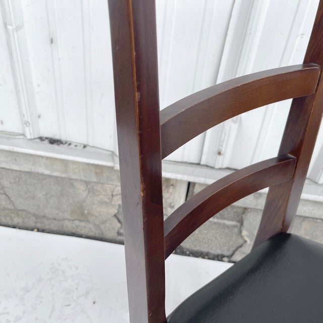 1960s Mid-Century Modern Walnut Desk Chair For Sale - Image 5 of 12