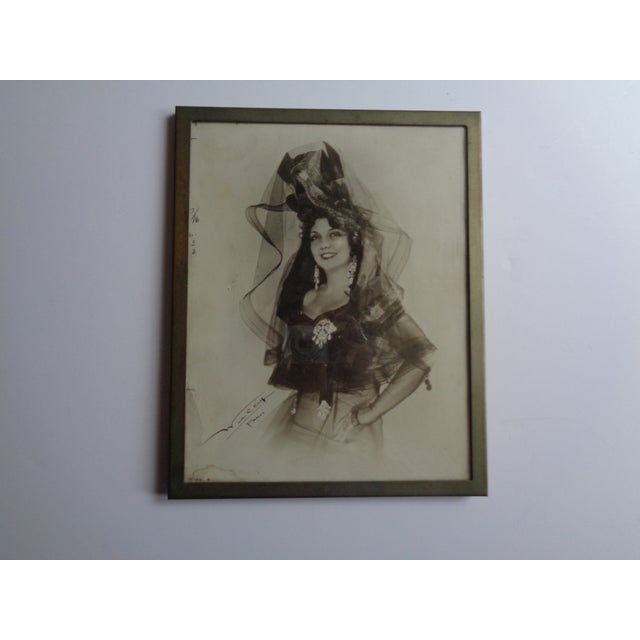 1931 Framed Photograph of Spanish Singer Conchita Supervia For Sale In New York - Image 6 of 6