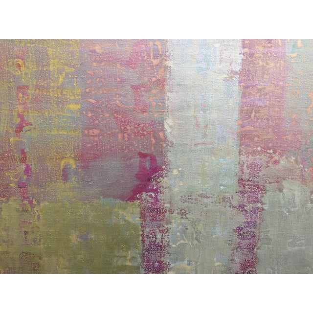 Christine Averill-Green Christine Averill - Green, Credo Painting, 2017 For Sale - Image 4 of 6