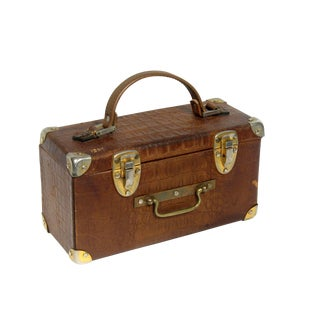 French Alligator Luggage