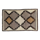Image of Early 20th Century Antique Navajo Rug- 5′3″ × 8′5″ For Sale
