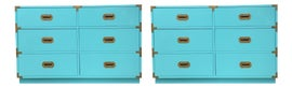 Image of Turquoise Dressers and Chests of Drawers
