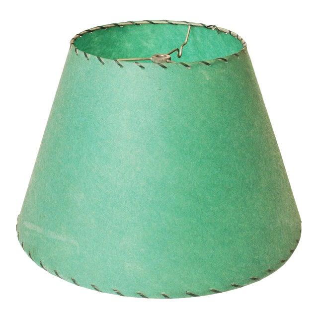 Mid century green spun fiberglass lamp shade chairish mid century green spun fiberglass lamp shade aloadofball Images