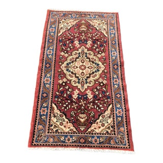 "Vintage Persian Lilian Small Area Rug - 2'6""x4'4"""