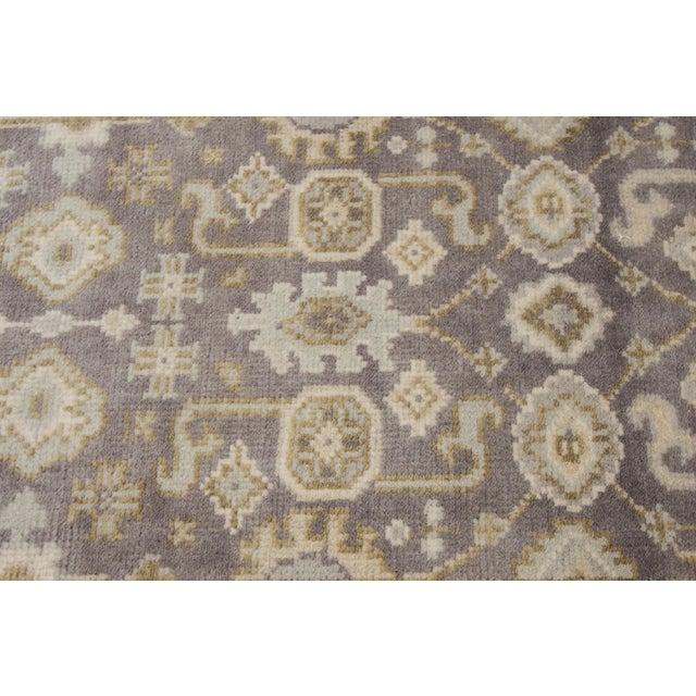 """Apadana - 21st Century Oushak Style Rug, 2'7"""" x 19'9"""" For Sale - Image 5 of 8"""
