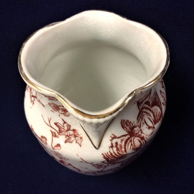 Ceramic 1900s Traditional Stoneware Wash Basin and Tumbler - 2 Pieces For Sale - Image 7 of 8
