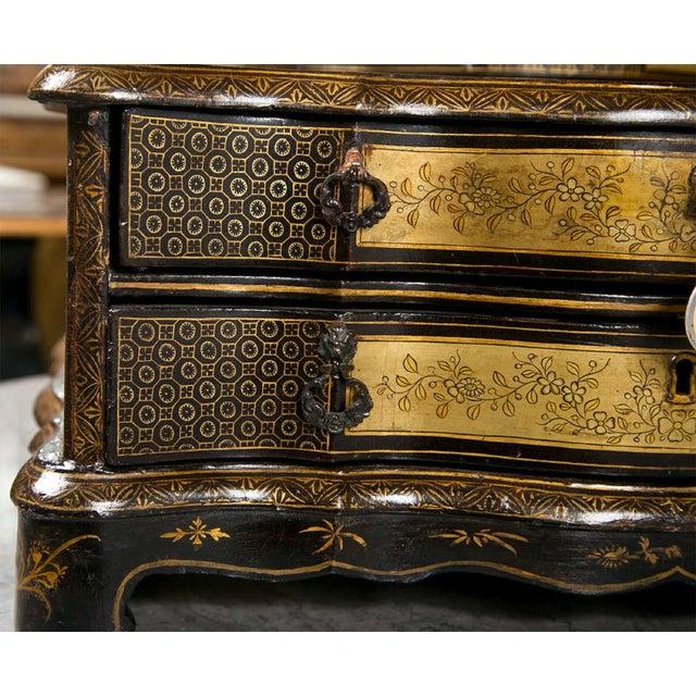 19th C. Oriental Vanity Table Mirror - Image 4 of 10