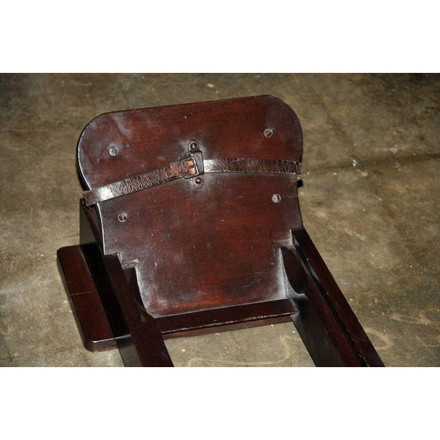 Italian Wood Rowing Machine For Sale - Image 5 of 7