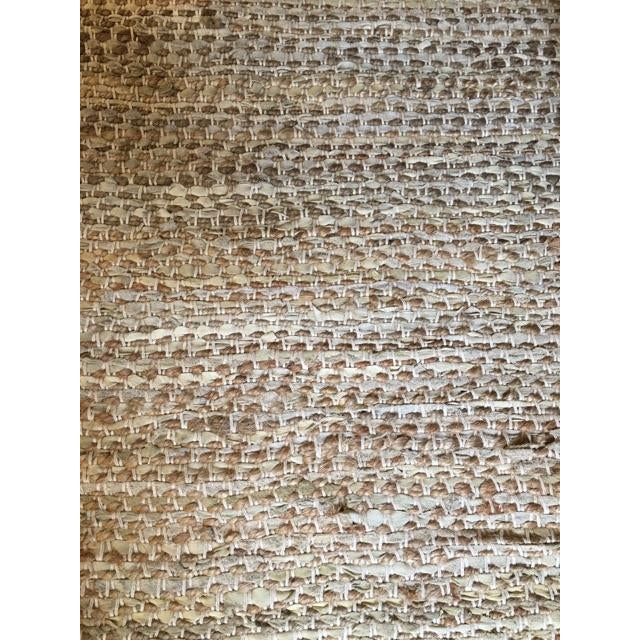 Leather & Fiber Woven Rug - 8′ × 10′ - Image 4 of 7