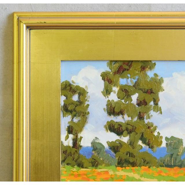 Early 21st Century Marc a Graison, California Plein Air Coastal Landscape Oil Painting For Sale - Image 5 of 9