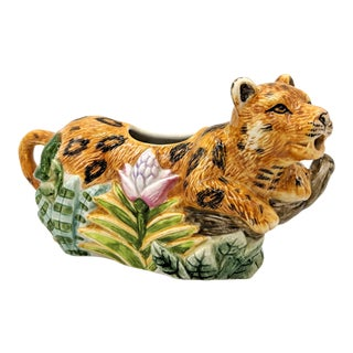 Jungle Cat Leopard Creamer For Sale