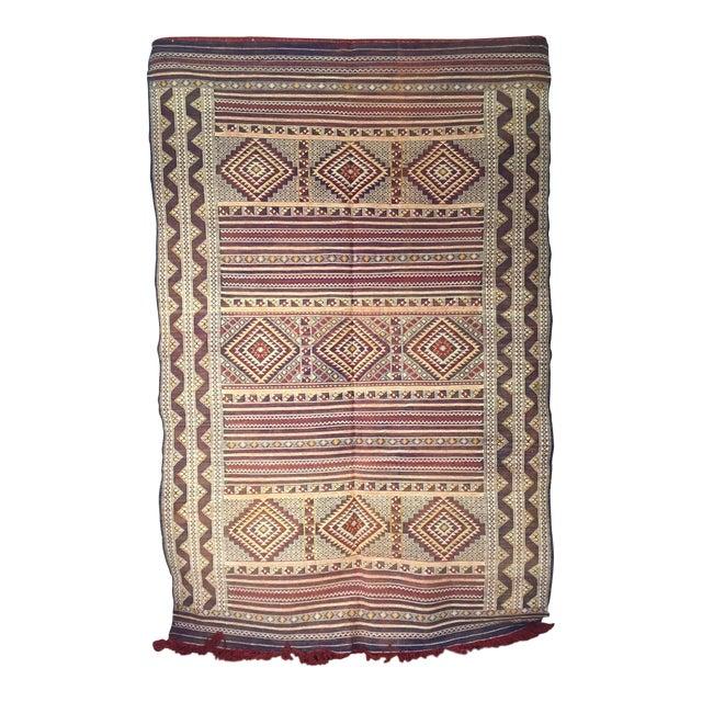 Zemmour Moroccan Wool Rug - 5′1″ × 7′5″ - Image 1 of 4