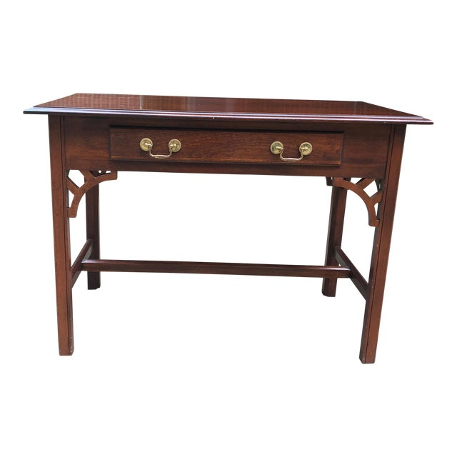 Bombay Co. Chinoserie Wood Desk For Sale
