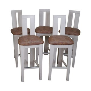 Pietro Costantini Ello Furniture Bar Stools -- Set of 5 For Sale