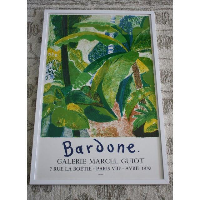 Guy Bardone Framed Exhibition Poster For Sale - Image 4 of 6