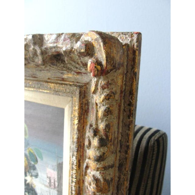 """Wood Jean Calogero Oil Painting """"Patrizia"""" (Signed) For Sale - Image 7 of 9"""