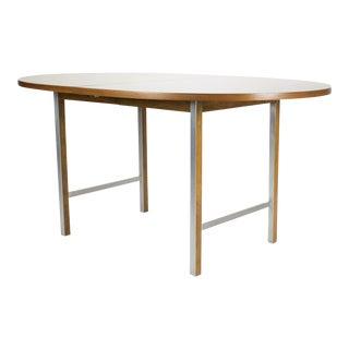 1960s Mid Century Modern Paul McCobb for Calvin Walnut Dining Table For Sale
