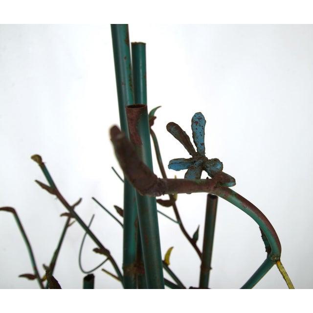 Steel Bamboo Sculpture - Image 3 of 5