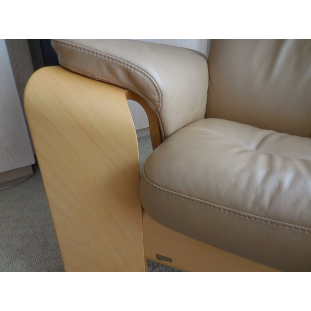 Ekornes ASA Stressless Leather Reclining Chair - Image 6 of 6