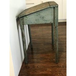 Antique Blue Painted Desk Preview