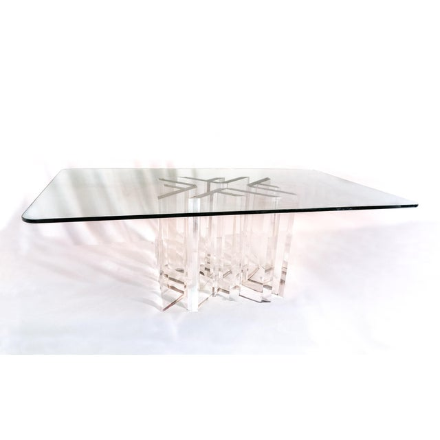 "Custom Jeffrey Bigelow ""Star"" Dining Room Table - Image 4 of 5"