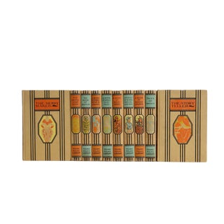 Young Folks' Library Decorative Book Set For Sale