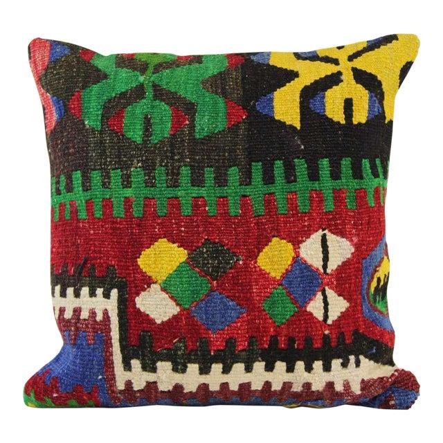 Handmade Kilim Pillowcase - Image 1 of 5