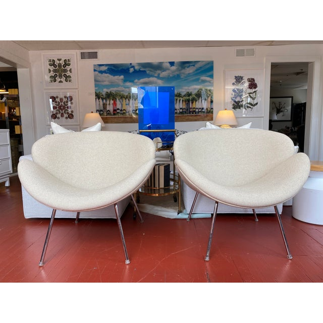 Pair of Vintage Tulips Chairs With Newly Upholstered For Sale - Image 13 of 13