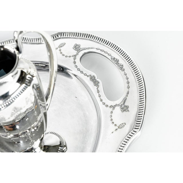 Silver Plate USA Tea & Coffee Set of 4 For Sale In New York - Image 6 of 9