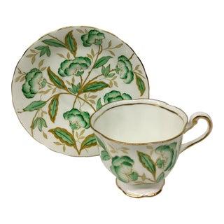 Vintage Royal Chelsea England Tea Cup Set - 2 Pc. For Sale