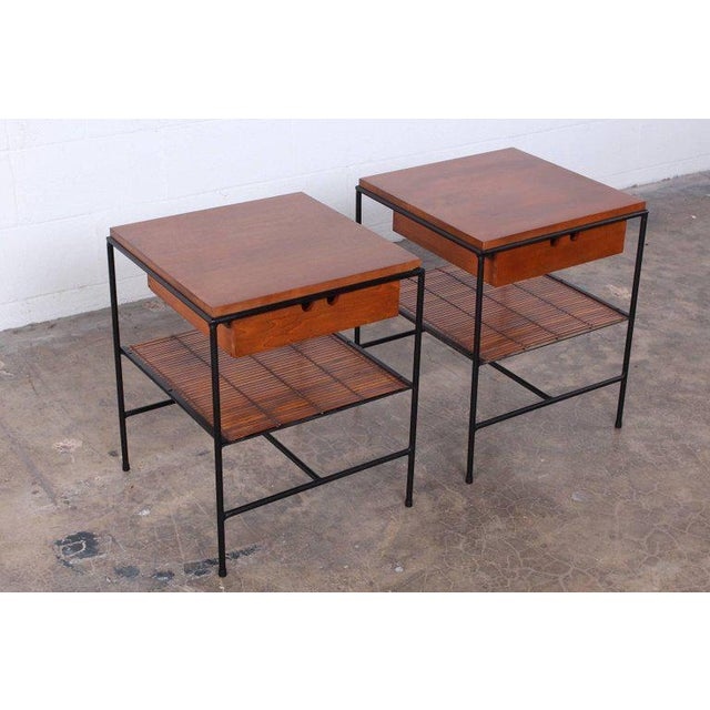 Pair of Nightstands by Paul McCobb For Sale - Image 9 of 10