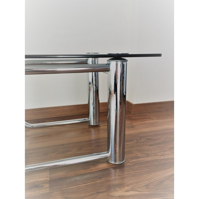 Mid-Century Modern Chrome Coffee Table - Image 10 of 11