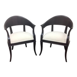 Modern Medellin Mid-Century Style Lounge Chairs - a Pair For Sale