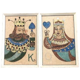 King & Queen Pebble Art Set
