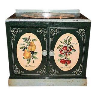 1860s Danish Decorated Cabinet & Washstand