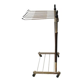Mid-Century Modern Trouser Trolley For Sale
