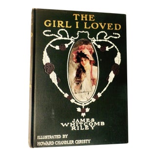 The Girl I Loved, Art Nouveau Book For Sale